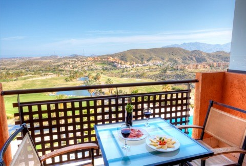 Valle Del Este Golf Resort Balkon